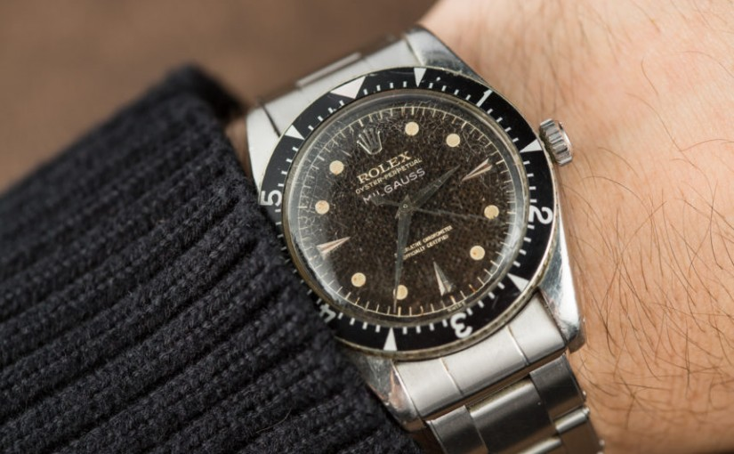 Replica Watches Rolex Milgauss 6541 Now An Iconic Timepiece Collectors Drool Over