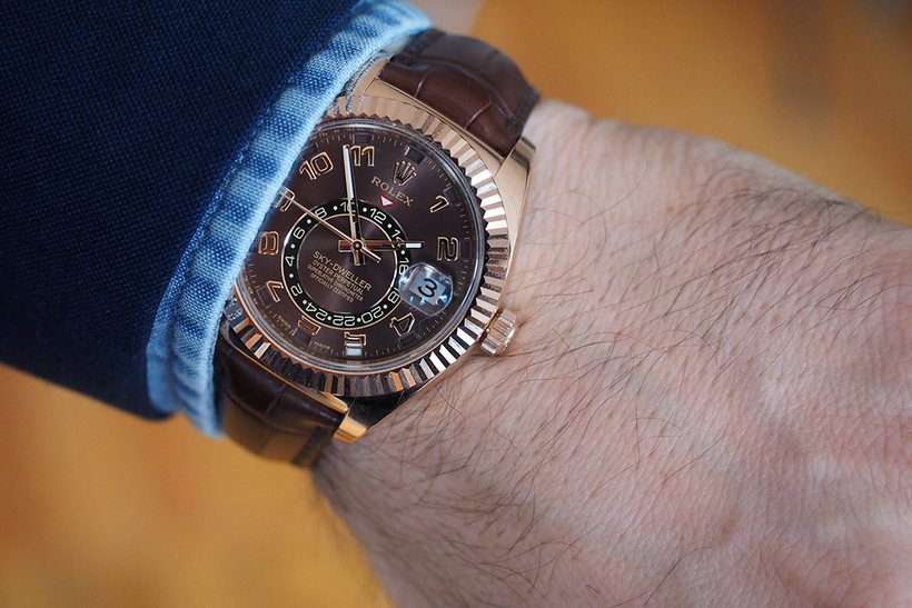 Rolex _ SKY - DWELLER - watches -