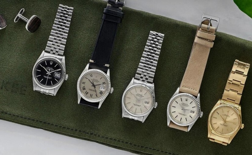 We've Curated A Crazy Sale Of Vintage Replica Rolex Datejusts For Gilt, And They're Live Now!