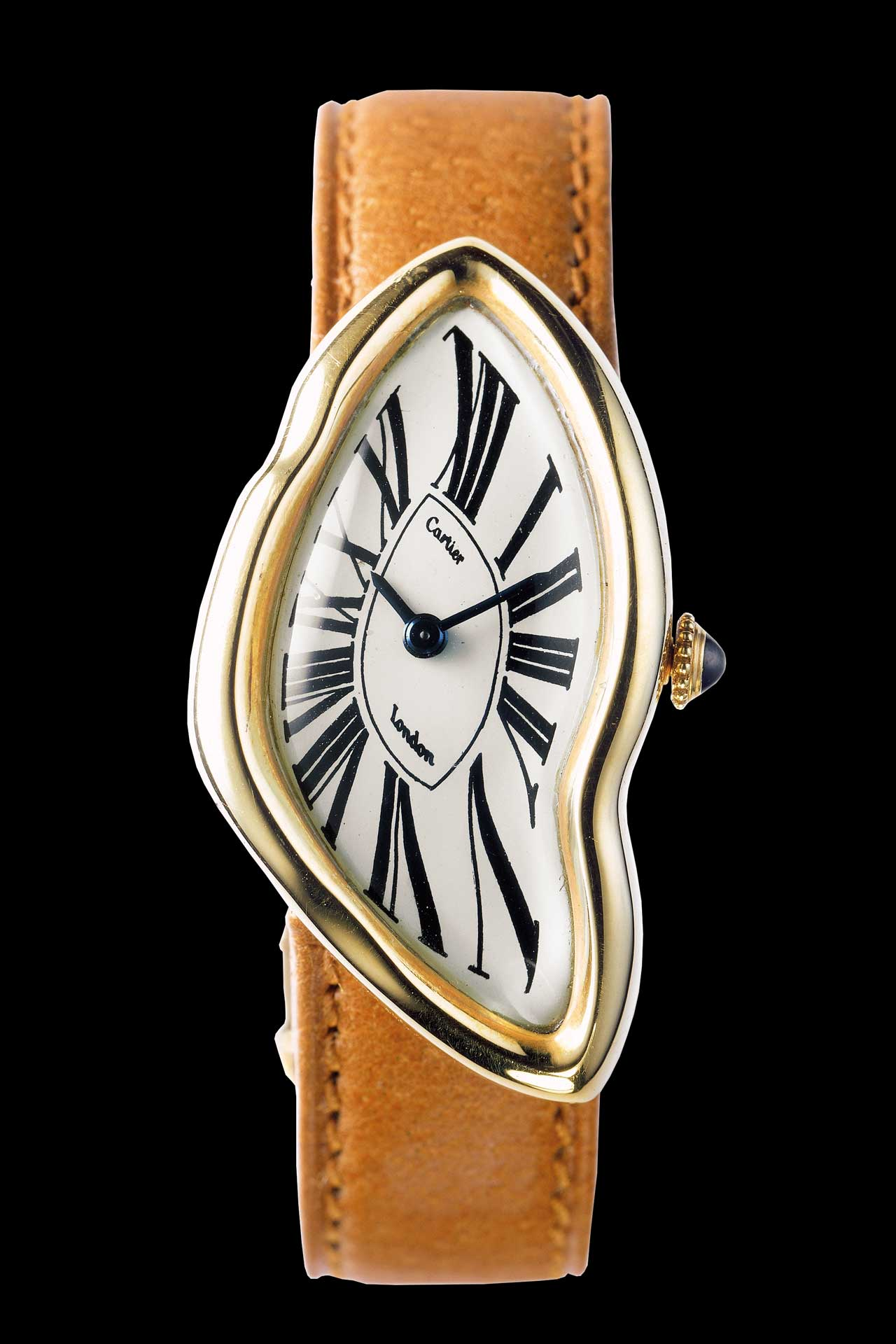 Rolex replica cheap - Cartier Crash Series Leather Strap Limited Edition Lady S Cheap Fake Watches For Sale